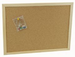 Q CONNECT KF03566  Notice Board Cork 600X400Mm
